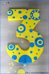 Цифра 3 своими руками