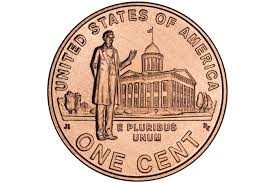 Lincoln Memorial Penny Values Chart Designs For Lincoln Pennies In 2009