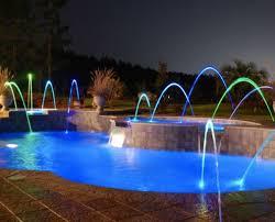 inground pools at night. Trilogy-inground-pool-accessory-lights03 Inground Pools At Night