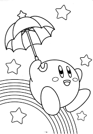 Small Picture Free Printable Kirby Coloring Pages For Kids