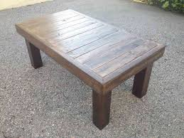 13 reclaimed wood coffee table diy inspiration