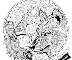 Wolf Coloring Pages For Adults Wolf Coloring Page Adult Wolf