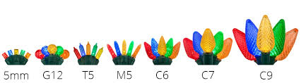 Led Christmas Bulb Size Chart Best Picture Of Chart