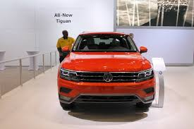 2018 volkswagen tiguan lwb. wonderful lwb front profile of 2018 volkswagen tiguan lwb and volkswagen tiguan lwb