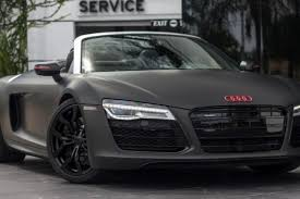 audi r8 matte black 2015. Simple 2015 See It At Halo Car Matte Black 2014 Audi R8 V10 For Sale  Autofluence In 2015 A