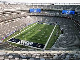 New York Giants Stadium Seating Chart 3d 21 Abundant Giants Stadium Seat Viewer