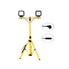 Tripod Shop Light Tripod Stand Led Work Light With Dual Lamp 54w Sturdy
