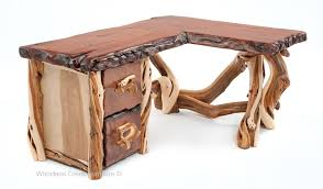 Custom Made Rustic Desk  Lodge Desk