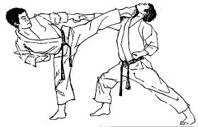 Small Picture Karate Demonstration Coloring Pages Batch Coloring