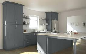 Grey Shaker Kitchen Cabinets Grey Shaker Cabinet Doors