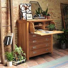 office bureau desk. Light Oak Hidden Bureau Country-home-office-and-library Office Desk R