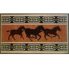 horse fever bath rug
