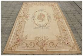 5x8 aubusson area rug antique french pastel wool handwoven