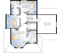 Image Bath 2nd Floor Architectural Designs Compact Guest House Plan 2101dr Architectural Designs House Plans