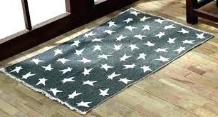 30x48 rug x black primitive star rectangle in reversible inch pad accent 30 48 bathroom rugs