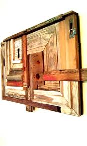 Reclaimed Wood Art Attractive Wall Decoration And Reclaimed Wood Wall Art