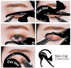 2pcs pack x eyeliner stencil