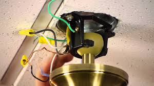 how to install a ceiling fan on a prewired ceiling fan outlet Ceiling Fan Wiring Diagram Red Black White how to install a ceiling fan on a prewired ceiling fan outlet ceiling fans youtube ceiling fan wiring diagram red black white