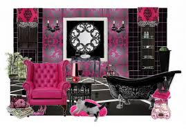 black and pink bathroom accessories. Free Pink And Purple Bathroom Sets With Black Accessories