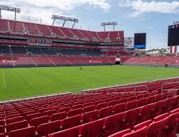Raymond James Stadium Section 108 Seat Views Seatgeek