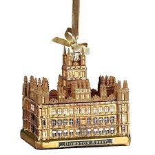 downton abbey kurt adler downtown abbey castle gl ornament 4 25 inch