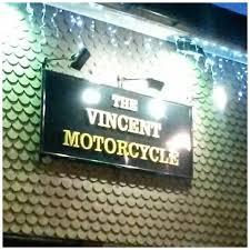 the vincent motorcycle stevenage
