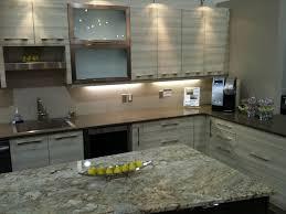 White Kitchen Cabinets Green Granite Countertops Green Granite