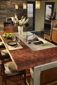 Kitchen Island Dining Table Attached Personable Kitchen Island