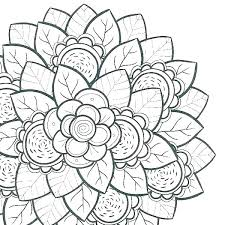 Printable Coloring Pages Of Flowers And Butterflies Printable Flowers Coloring Pages Imscott Co