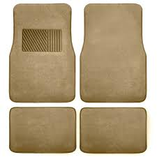 Carpet Floor Mats with Heel Pad FH Group