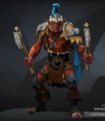 troll warlord got a make up dota2