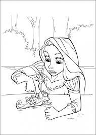 Immagini Rapunzel Da Colorare Stampae Colorare