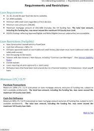 Va Funding Fee Chart 2013 Va Underwriting Guidelines Pdf Free Download