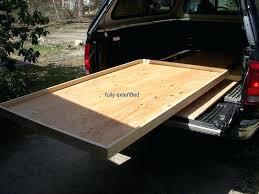 diy truck bed covers truck bed slide plans out storage slider original of diy fiberglass truck