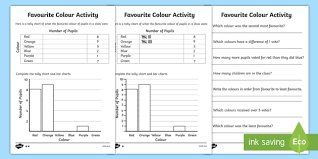 Tally Chart Worksheets Tally Chart Worksheets Bar Chart