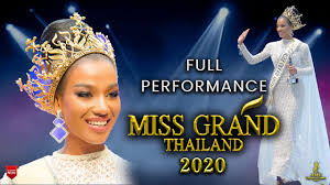 Miss Grand Thailand 2020 is