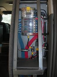 wire sizing for new fuse block help! toyota fj cruiser forum how to wire a cb radio into a fuse box the picture here shows, how i divided the fuse panel into terminal blocks, in a different compartment it made for a clean install and access to add delete