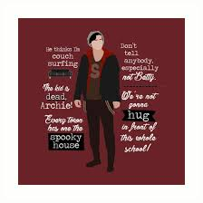 Riverdale Quotes Beauteous Juggy's Quotes Riverdale Art Prints By Nazeli Redbubble