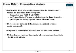 frame relay présentation générale