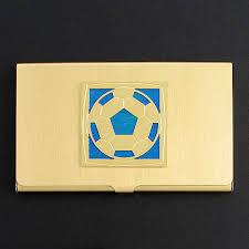 Soccer Business Card Soccer Business Card Case