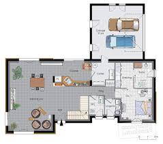 Maison De Luxe Plan Maison Moderne De Luxeplan Plan De Maison En