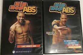 lot hip hop abs dvd set workout fitness shaun t by beachbody hips buns thighs