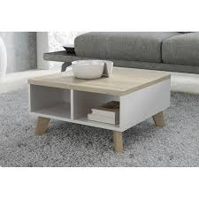 scandinavian style coffee table 60cm