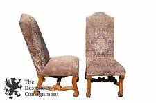 4 tuscan old world rustic acanthus distressed dining chairs designer spanish