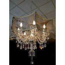 50 shades of gray crystal chandelier