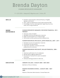 It Resume Examples 2017 60 Resume Examples Examples Of Resumes 60 Best Of Gallery Of 2