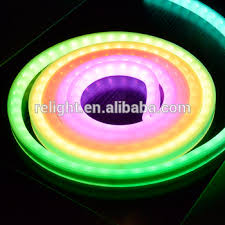 Color Changing Rope Lights Extraordinary Multi Color Changing Led Rope Light Icbuilt In Rgbw Led Strip For