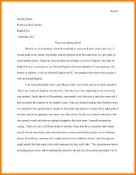 Personal Narrative Essay Examples High School Alid Info