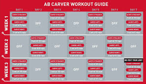 Workout Chart Ab Wheel Workout Roller Workout Ab Roller