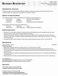 Mechanic Resume Samples Best Of Automotive Technician Resume For